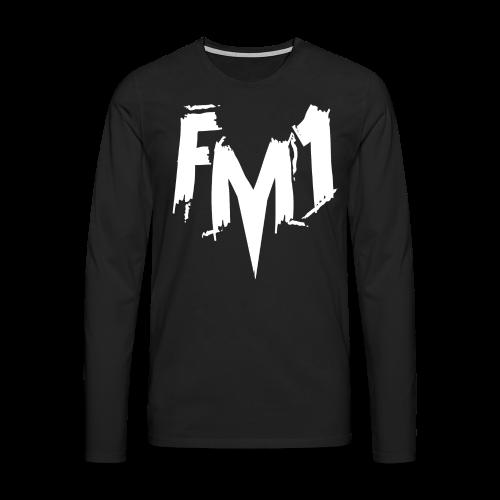 FM1 - Punky (unisex) - Herre premium T-shirt med lange ærmer