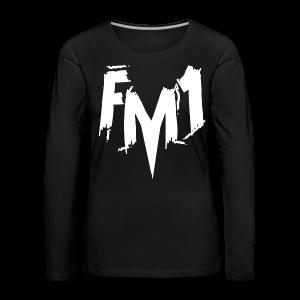 FM1 - Punky (unisex) - Dame premium T-shirt med lange ærmer