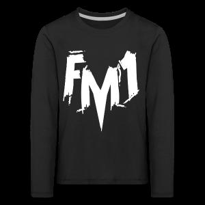 FM1 - Punky (unisex) - Børne premium T-shirt med lange ærmer