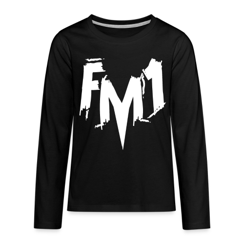 FM1 - Punky (unisex) - Teenager premium T-shirt med lange ærmer
