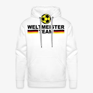 Weltmeister Team Germany Sieger Fußball Deutschland Herren T-Shirt - Männer Premium Hoodie