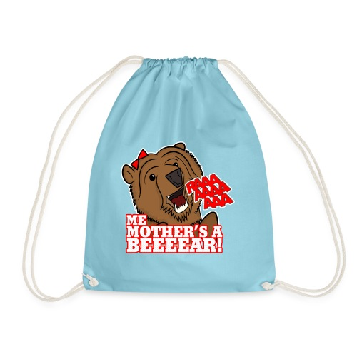 ME MOTHER'S A BEAR! - Womens - Drawstring Bag