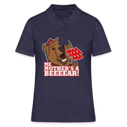 ME MOTHER'S A BEAR! - Womens - Women's Polo Shirt