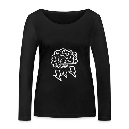 Classic BrainstormAlex Shirt - Womens - Women's Organic Longsleeve Shirt by Stanley & Stella