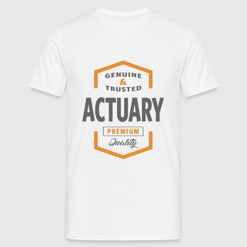 Actuary T-shirt - Men's T-Shirt