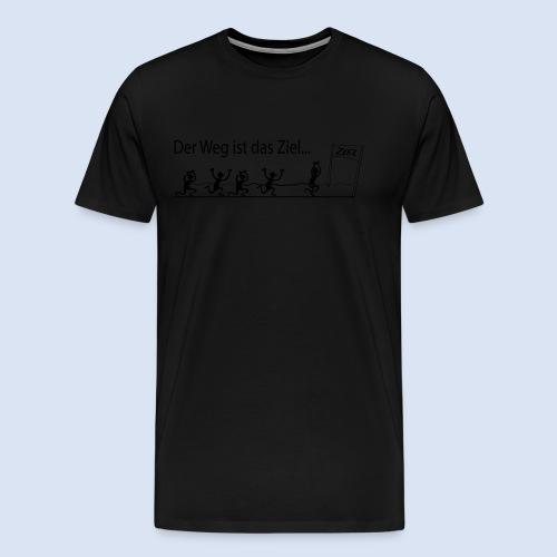 Mein Ziel Marathon – Stadtmarathon - Männer Premium T-Shirt