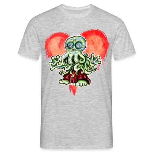I Love Cthulu - Männer T-Shirt