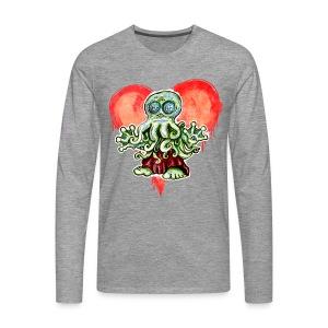 I Love Cthulu - Männer Premium Langarmshirt