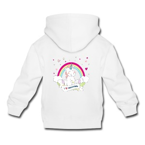 Cute Unicorn Babybody - Premium-Luvtröja barn