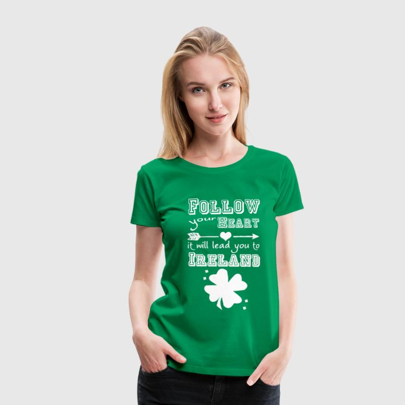 Ireland Heart T-Shirts - Women's Premium T-Shirt