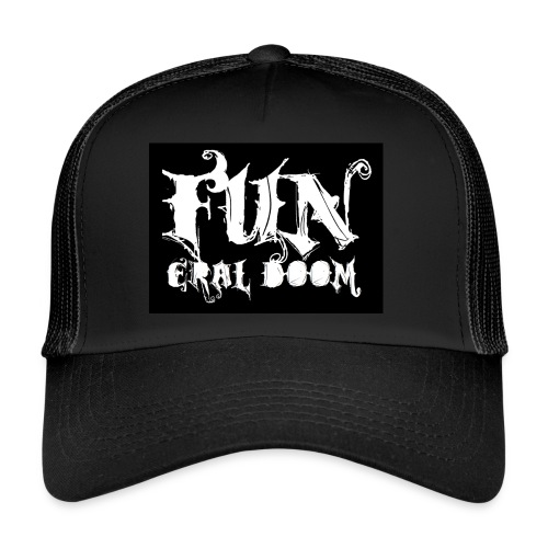 FUNeral doom bear - Trucker Cap