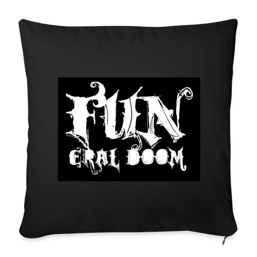 FUNeral doom bear - Sofa pillow cover 44 x 44 cm