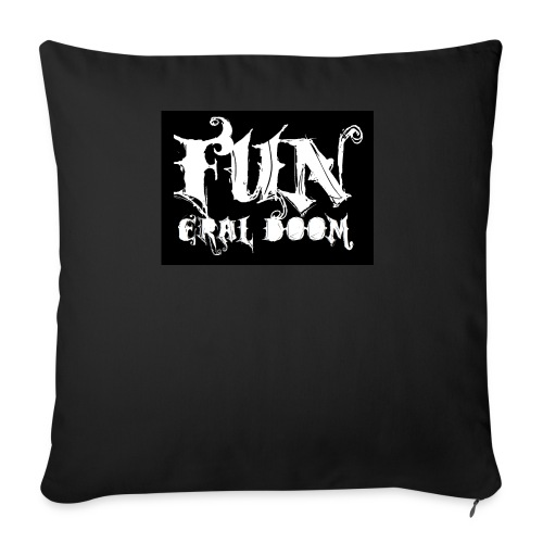 FUNeral doom bear - Sofa pillowcase 17,3'' x 17,3'' (45 x 45 cm)
