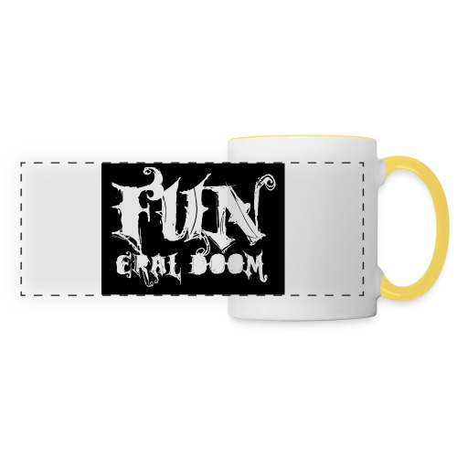 FUNeral doom bear - Panoramic Mug