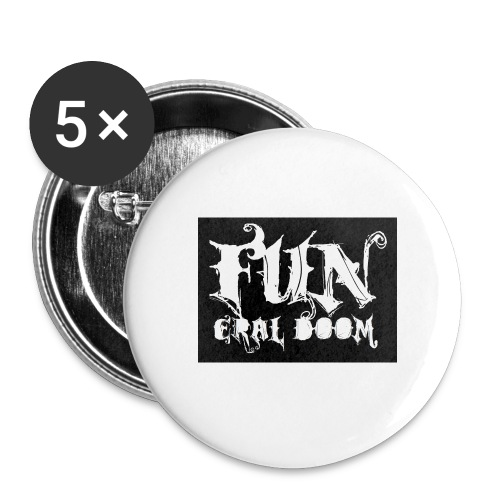 FUNeral doom bear - Buttons medium 32 mm