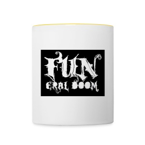 FUNeral doom bear - Contrasting Mug