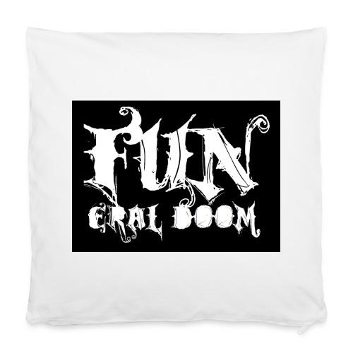 FUNeral doom bear - Pillowcase 40 x 40 cm