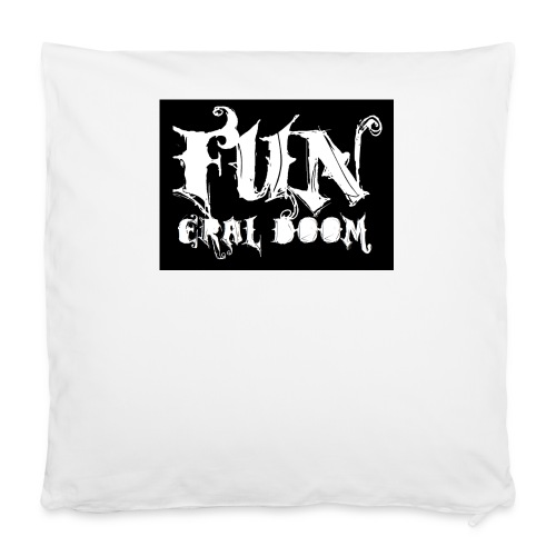 "FUNeral doom bear - Pillowcase 16"" x 16"" (40 x 40 cm)"