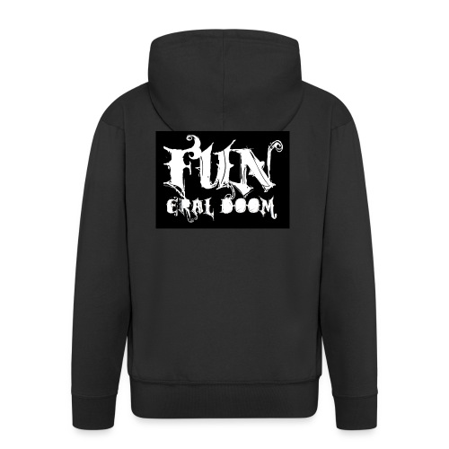 FUNeral doom bear - Men's Premium Hooded Jacket