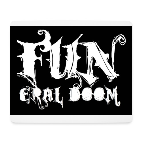 FUNeral doom bear - Mouse Pad (horizontal)