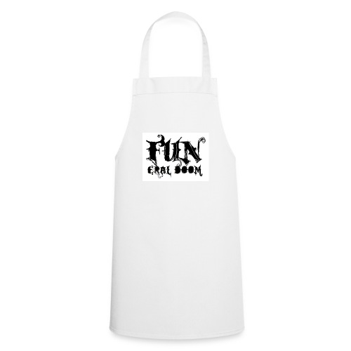 FUNeral doom bear white - Cooking Apron