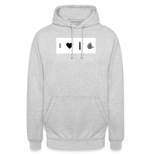 i love post rock bear - Unisex Hoodie