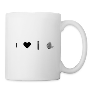 i love post rock bear - Mug