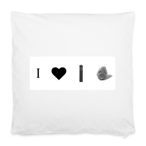 i love post rock bear - Pillowcase 40 x 40 cm