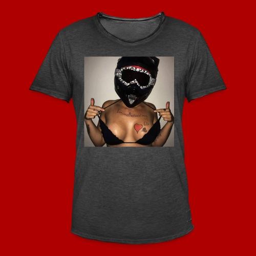 InsaneBoobs - Männer Vintage T-Shirt