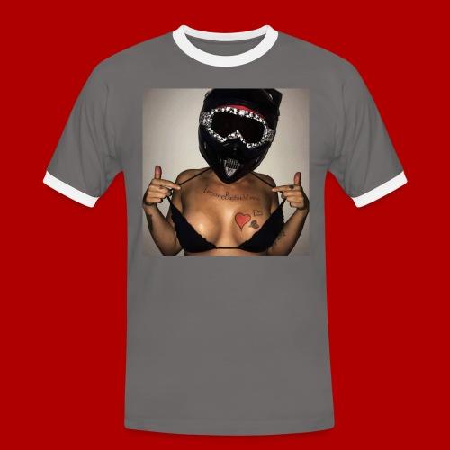 InsaneBoobs - Männer Kontrast-T-Shirt
