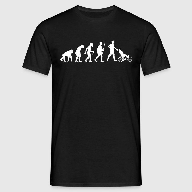 Daddy Papa Evolution - Männer T-Shirt