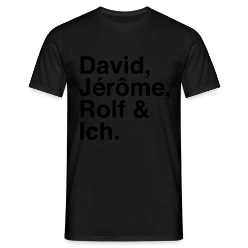 Fussballstyler Hoodie - Männer T-Shirt