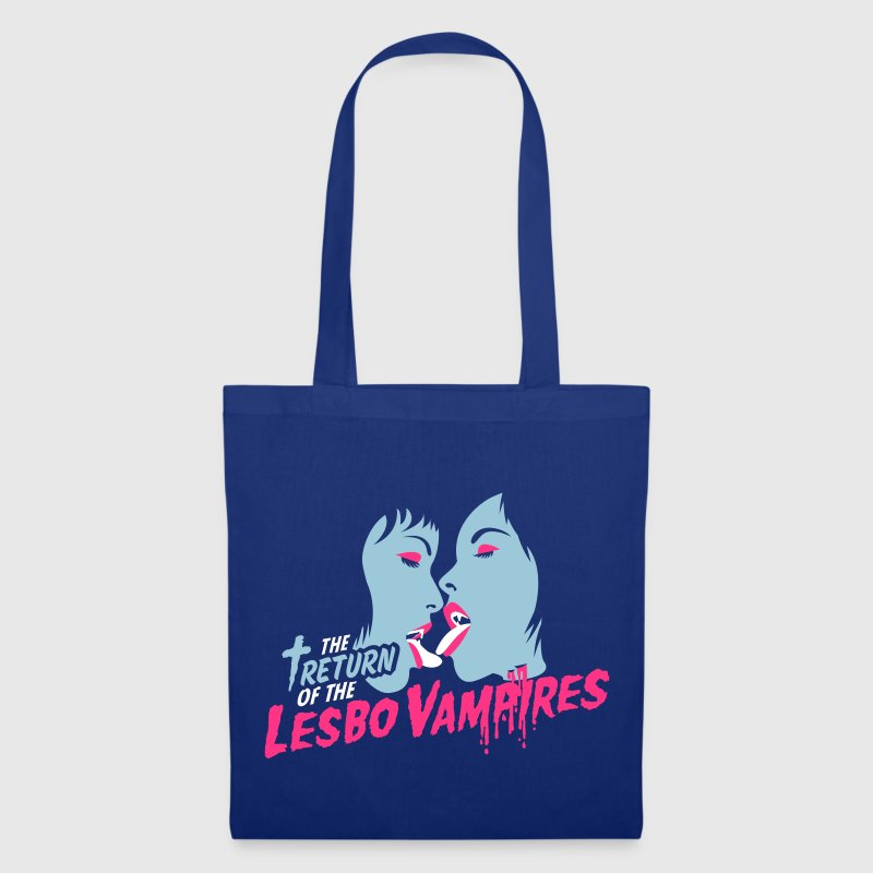 Blu royal return of the lesbo vampires Borse - Borsa di stoffa