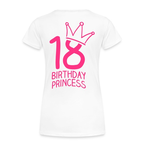 Birthday 18H - Frauen Premium T-Shirt