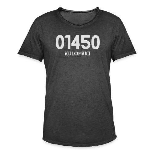 01450 KULOMÄKI - Miesten vintage t-paita