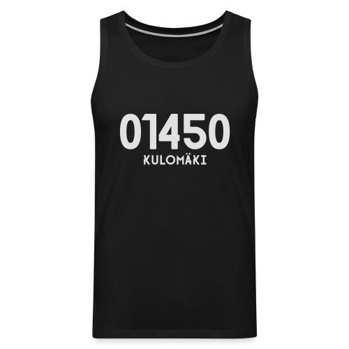 01450 KULOMÄKI - Miesten premium hihaton paita