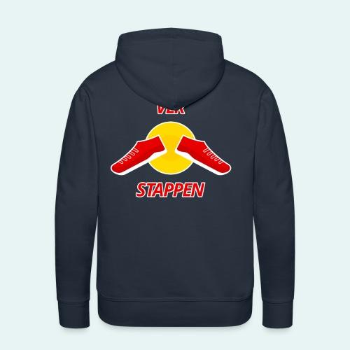 Ver stappen - Mannen Premium hoodie