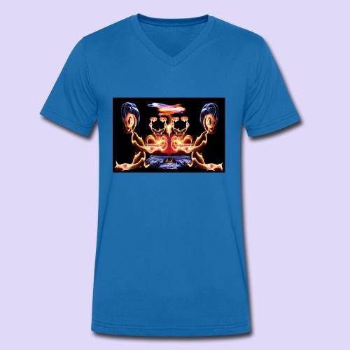 Amour d'aliens - T-shirt bio col V Stanley & Stella Homme