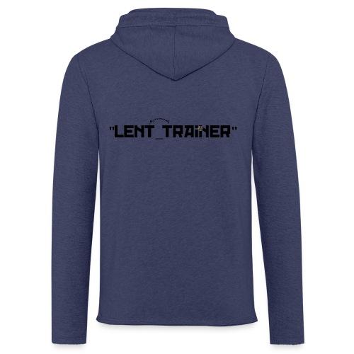 Sweat à capuche JEAN de lent-TRAINEUR avec un point sur le i - Sweat-shirt à capuche léger unisexe