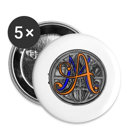 Sweat à capuche JEAN de lent-TRAINEUR avec un point sur le i - Badge petit 25 mm