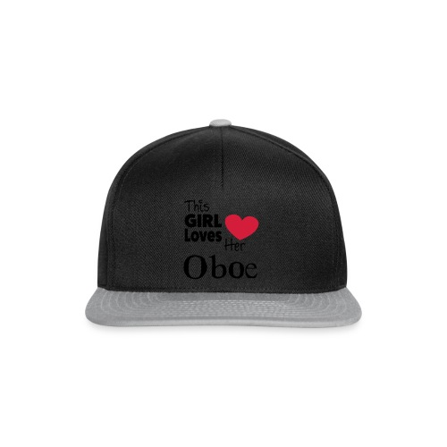 This Girl Loves Her Oboe  - Snapback-caps