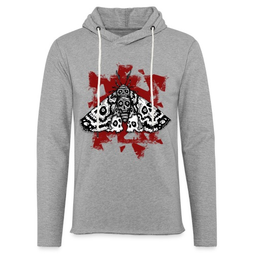 Skullmoth Women - Leichtes Kapuzensweatshirt Unisex