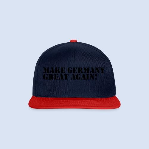 MAKE GERMANY GREAT AGAIN - DEUTSCHLAND SHIRTS - Snapback Cap