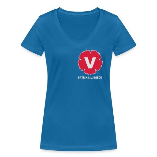 Ekologisk T-shirt med V-ringning dam från Stanley & Stella