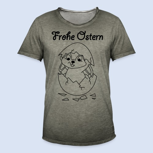 FROHE OSTERN - Happy Easter Baby & Kleinkinder - Männer Vintage T-Shirt