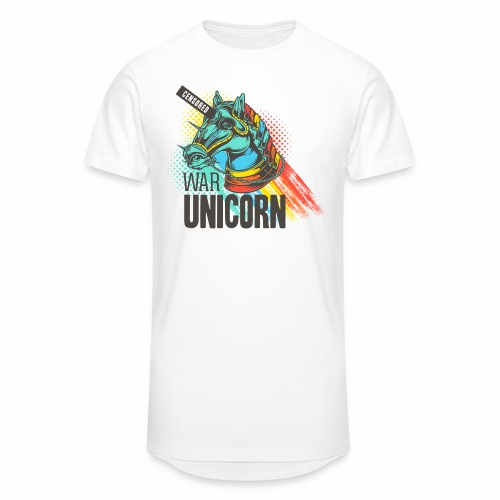 War Unicorn - Männer Urban Longshirt