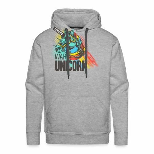 War Unicorn - Männer Premium Hoodie