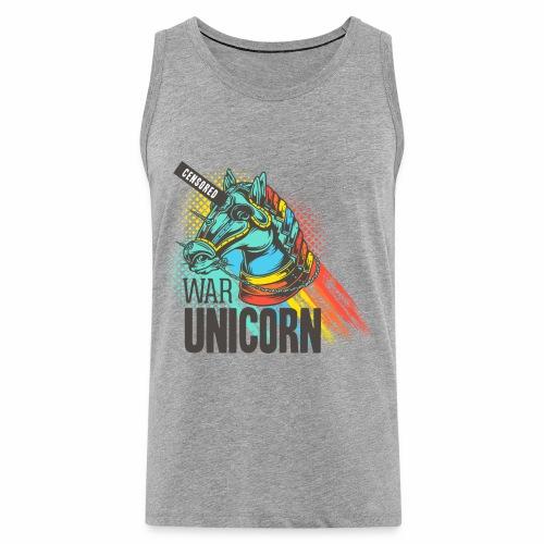 War Unicorn - Männer Premium Tank Top