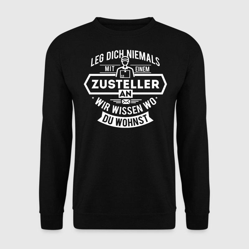 Zusteller Postbote Briefträger Paketzusteller Pullover & Hoodies - Männer Pullover