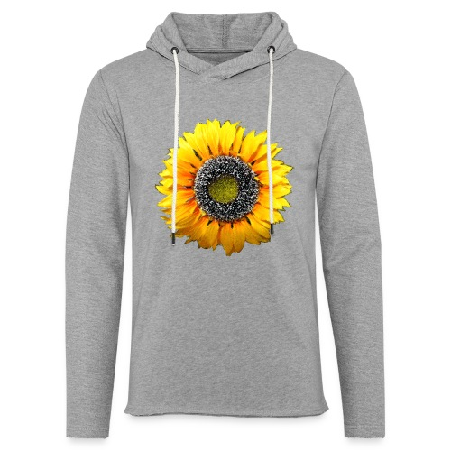Sonnenblume - Leichtes Kapuzensweatshirt Unisex
